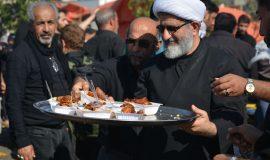برپایی موکب شهدا در کربلا توسط امام جمعه شهر زیراب