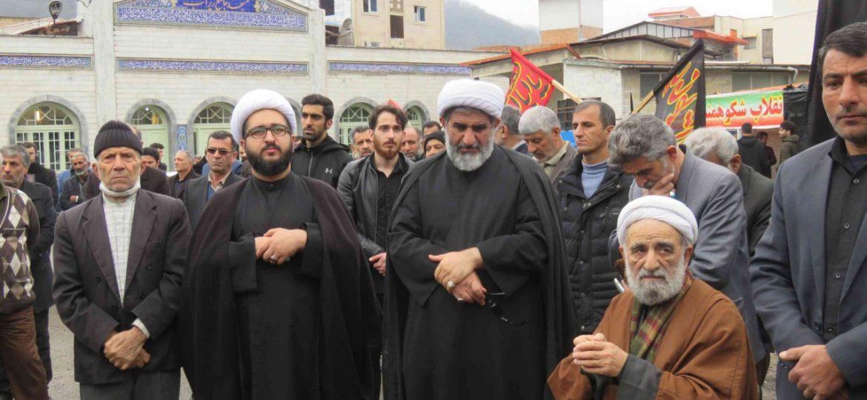 اجتماع فاطمیون با حضور امام جمعه بخش زیراب در مسجد جامع زیراب سوادکوه