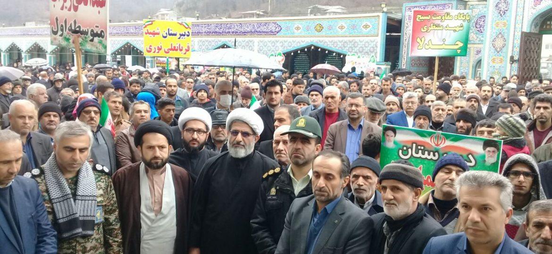 حماسه ای دیگر از مردم زیراب در چهلمین سال انقلاب اسلامی ایران
