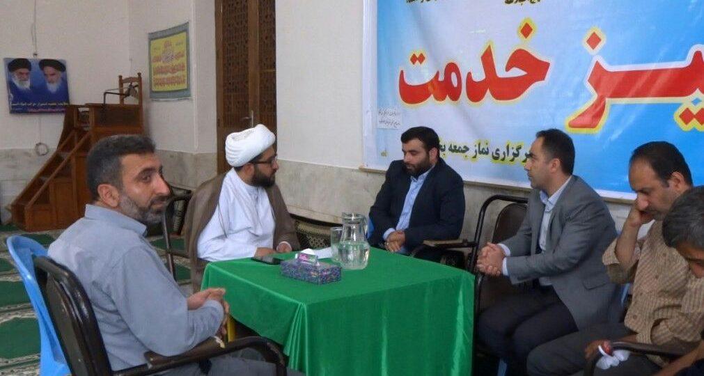 میز خدمت با حضور ریاست اداره میراث فرهنگی و گردشگری شهرستان سوادکوه