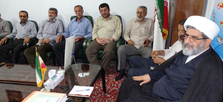 جلسه کارگروه گرامیداشت ۵ مرداد با حضور امام جمعه زیراب سوادکوه در دفتر امام جمعه زیراب