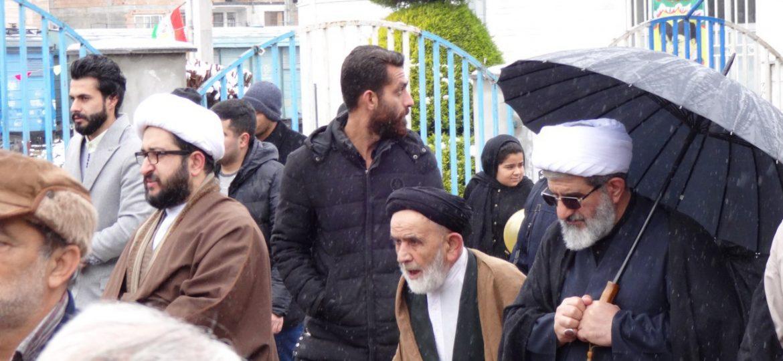 مراسم راهپیمایی ۲۲ بهمن زیراب سوادکوه